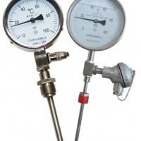 Bimetallic thermometer