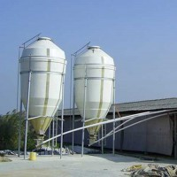 Conservation column glass steel tower