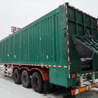 Intelligent crawler unloading truck
